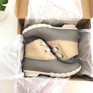 Sperry Saltwater Rain Boots NIB